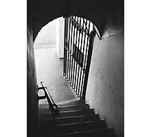 Old Gaol Stairs Photographic Print