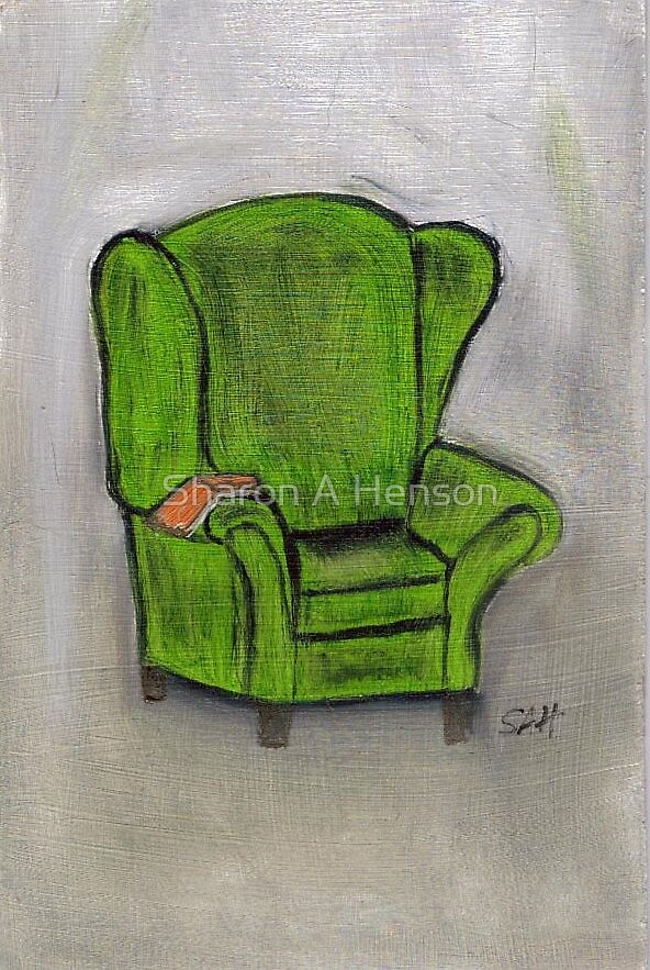 THE GREEN CHAIR by Sharon A. Henson