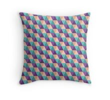 Geo Triangle 3 Throw Pillow