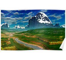 Mountain Spring Poster