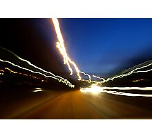 Travelling on speed Photographic Print