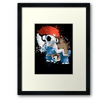 Mega Blast you with water Framed Print