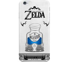 Zelda legend Blue potion iPhone Case/Skin
