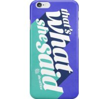 The Office Michael Scott Quote iPhone Case/Skin