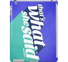 The Office Michael Scott Quote iPad Case/Skin