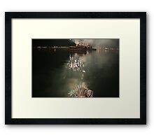 fourth of july reflections Framed Print