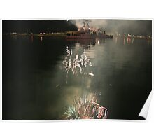 fourth of july reflections Poster