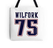 Vince Wilfork Tote Bag