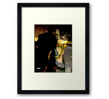 Drama After Dark Framed Print