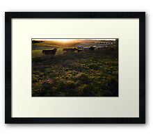 New Barn Farm from White Lane, Twyford Framed Print