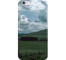 Around here was the royal town of Gefrin Northumbria England 19840530 0026 iPhone Case/Skin