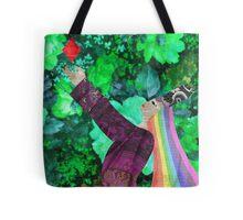 Rainbow Queen of Diamonds Tote Bag