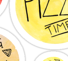 Pizza Party set Sticker