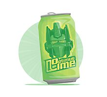 Optimus Lime Photographic Print