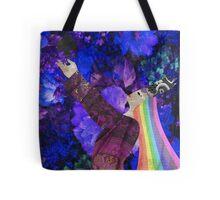 Rainbow Queen of Spades Tote Bag