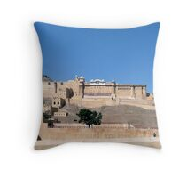 Amber Fort in Jaipur  Throw Pillow