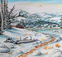 Springtime In The Rockies by WildestArt
