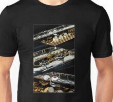 A Saxophonic Collage Unisex T-Shirt