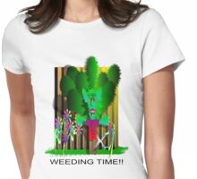 weeding time Womens Fitted T-Shirt