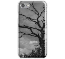mono tree iPhone Case/Skin
