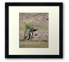 Moray Farmer Framed Print