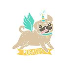 Pugasus by Amy Grace