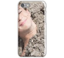 buried in the sand iPhone Case/Skin