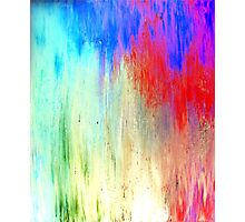 Modern Original Art Abstract Titled: Summer Breeze Photographic Print