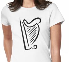 Harp Womens Fitted T-Shirt