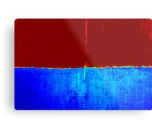 Original Abstract Modern Art Acrylic Titled: Two Sides Metal Print