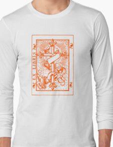 Cross Banner & Fleur De Lys Long Sleeve T-Shirt