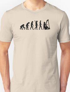 Evolution Harp Unisex T-Shirt