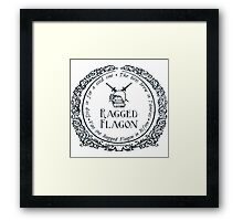 Visit the Ragged Flagon! Framed Print