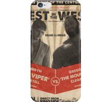 Viper vs The Mountain iPhone Case/Skin