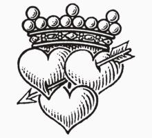Three Hearts Crown & Dagger by Zehda