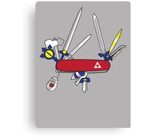 Hylian Army Knife Canvas Print