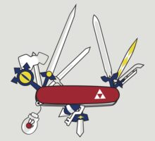 Hylian Army Knife by sparkmark