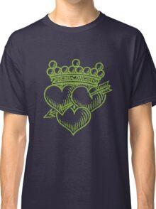 Three Hearts Crown &  Dagger Classic T-Shirt