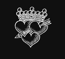 Three Hearts Crown &  Dagger T-Shirt