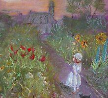 evening garden by WILT