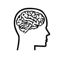 Brain head Photographic Print