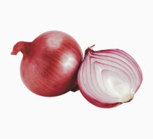 Red onion One Piece - Short Sleeve
