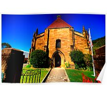 Convict Stone - The Garrison Church - The Rocks - The HDR Series Poster