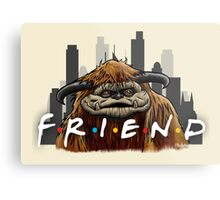 He'll Be There For You  Metal Print