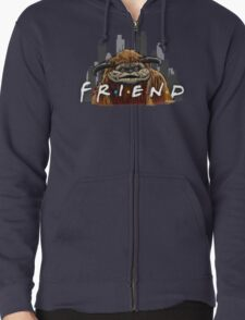 He'll Be There For You  Zipped Hoodie