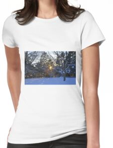 Day's End Womens Fitted T-Shirt