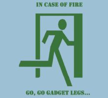In case of fire....run T-Shirt
