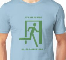 In case of fire....run Unisex T-Shirt