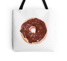 Chocolate donut Tote Bag
