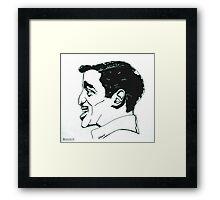 Sammy Davis Jr. Framed Print